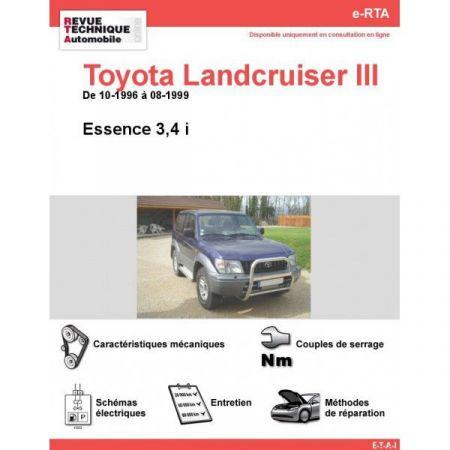 LandCruiser III E 96-99 Revue e-RTA Numerique Toyota
