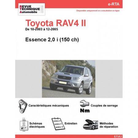 RAV4 II E 03-05 Revue e-RTA Numerique Toyota