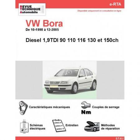 Bora D 98-05 Revue e-RTA Numerique Volkswagen