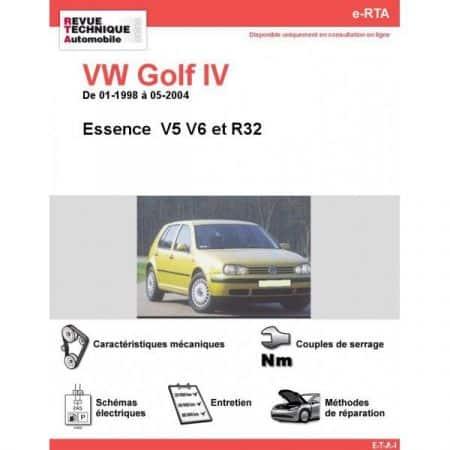 Golf IV E 98-04 Revue e-RTA Numerique Volkswagen