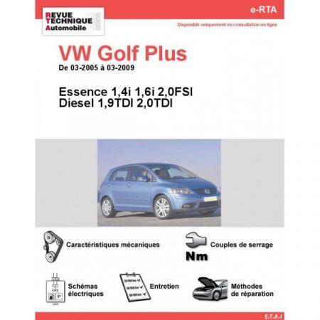Golf Plus 05-09 Revue e-RTA Numerique Volkswagen