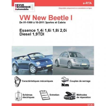 New Bettle I 99-11 Revue e-RTA Numerique Volkswagen