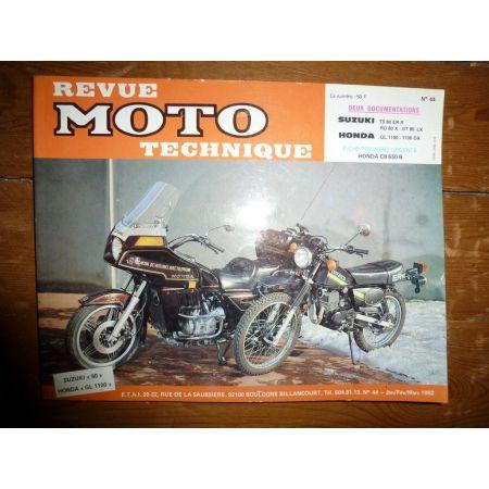GL1100 TS RG GT80 Revue Technique moto Honda Suzuki