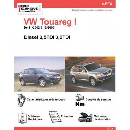 Touareg I D 02-06 Revue e-RTA Numerique Volkswagen