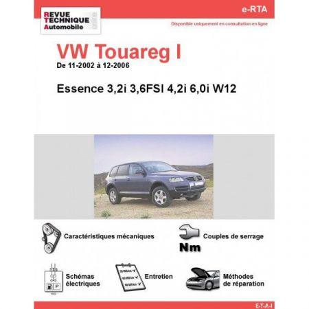 Touareg I E 02-06 Revue e-RTA Numerique Volkswagen