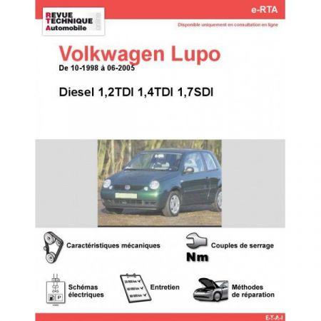 Lupo D 98-05 Revue e-RTA Numerique Volkswagen