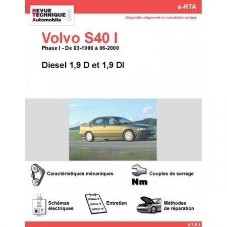 S40 I D 96-00 Revue e-RTA Numerique Volvo