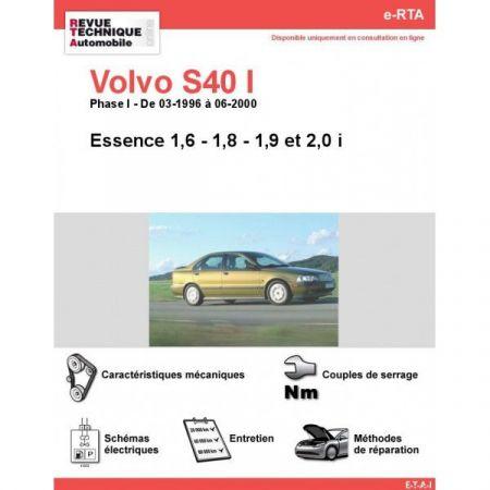 S40 I E 96-00 Revue e-RTA Numerique Volvo