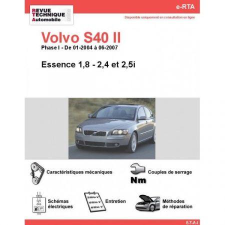 S40 II E 04-07 Revue e-RTA Numerique Volvo