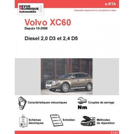 XC60 D 08- Revue e-RTA Numerique Volvo