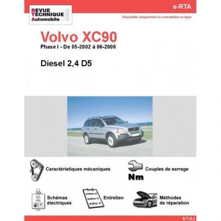XC90 D 02-06 Revue e-RTA Numerique Volvo