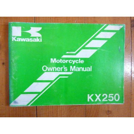 KX250 - Manuel Propriétaire