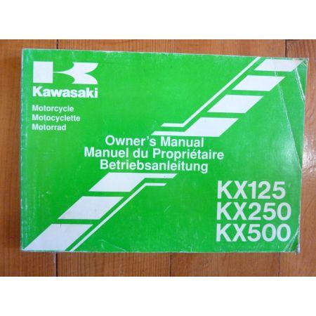 KX 125-250-500 - Manuel Propriétaire