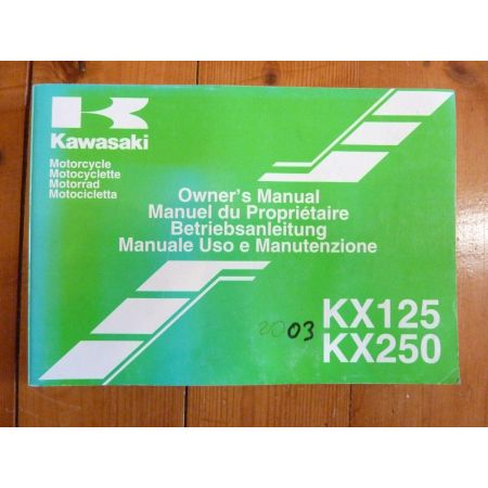 KX 125-250 - Manuel Propriétaire