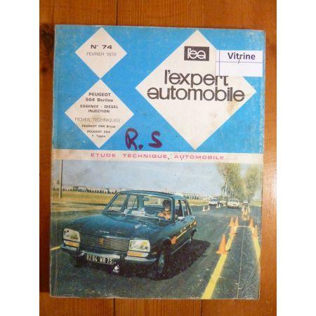 504 68- Revue Technique Peugeot
