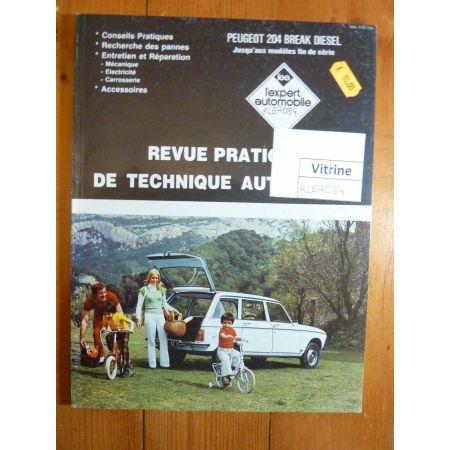 204 bk Revue Technique Peugeot