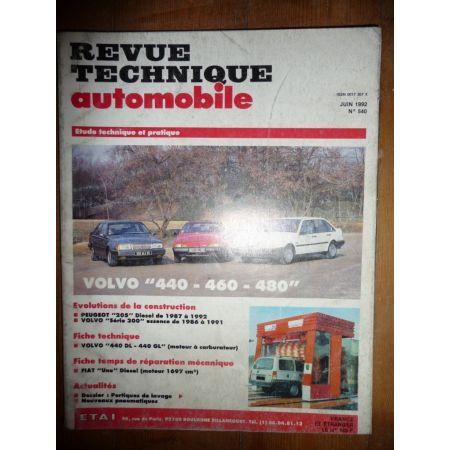 440 460 480 Revue Technique Volvo
