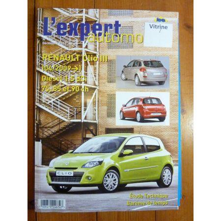 Clio 3 Dci 09- Revue Technique Renault