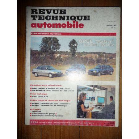 Astra Revue Technique Opel