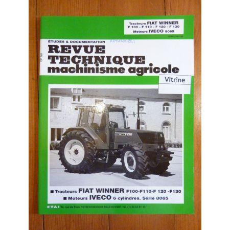 F100 F110 F120 F130 Revue Technique Agricole Fiat Someca