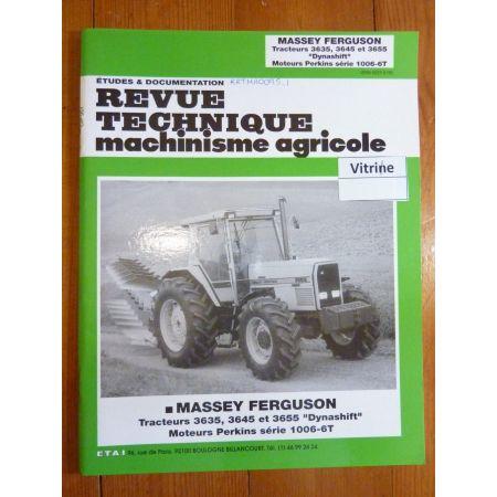 3635 3645 3655 Revue Technique Agricole Massey Ferguson et Perkins