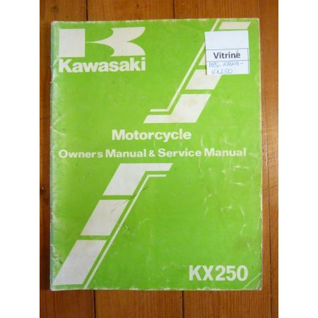 KX250 - Manuel