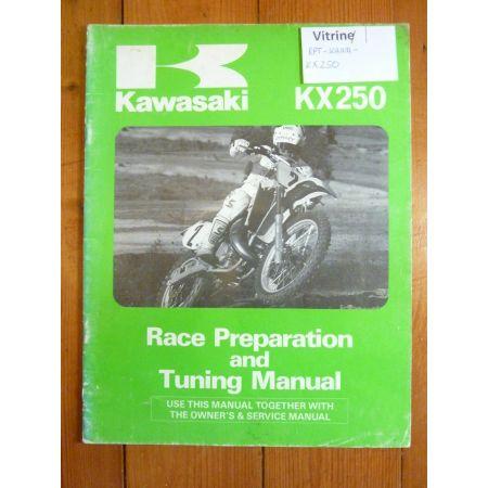 KX250 - Race preparation