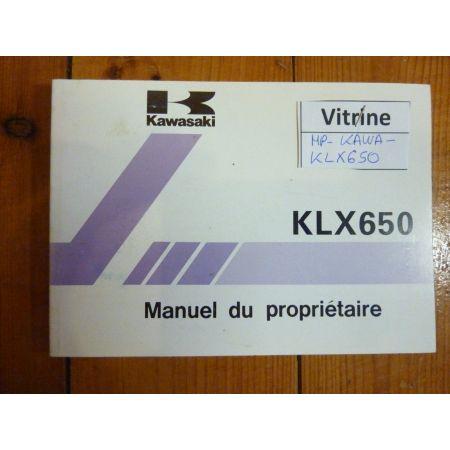 KLX650 - Manuel
