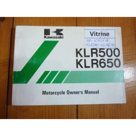 KLR500-KLR650 - Manuel