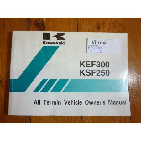 KSF250-KEF300 - Manuel