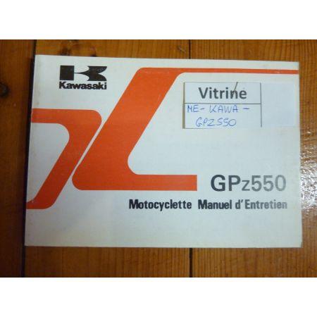GPZ550 - Manuel