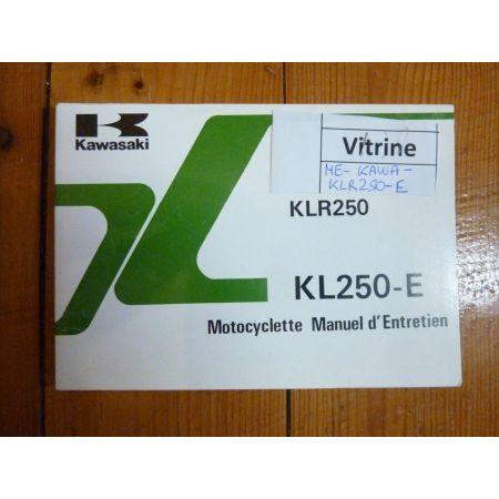 KLR250E - Manuel