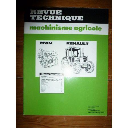 551S à 751-4 Revue Technique Agricole Renault