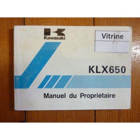 KLX650-C1- Manuel