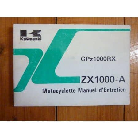 GPZ1000RX- Manuel