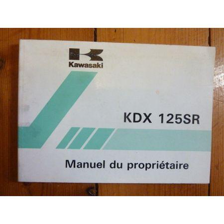 KDX125SR - Manuel
