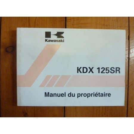 KDX125SR A8-B6 - Manuel