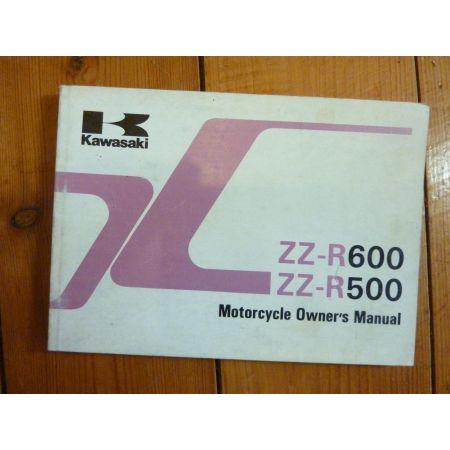 ZZR600 D2 - ZZR500-C2 - Manuel