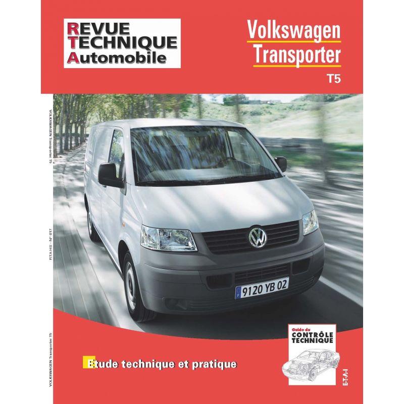 rta revue technique volkswagen vw transporter t5 rtahs017 octobre 2015. Black Bedroom Furniture Sets. Home Design Ideas