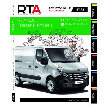 Renault Master III 2.3 dCi dep 04/2010 Revue Technique Renault