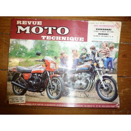 Z400 550 GS850 1100 Revue Technique moto Kawasaki Suzuki
