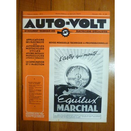 Vedette 51-52 Revue Technique Electronic Auto Volt Ford