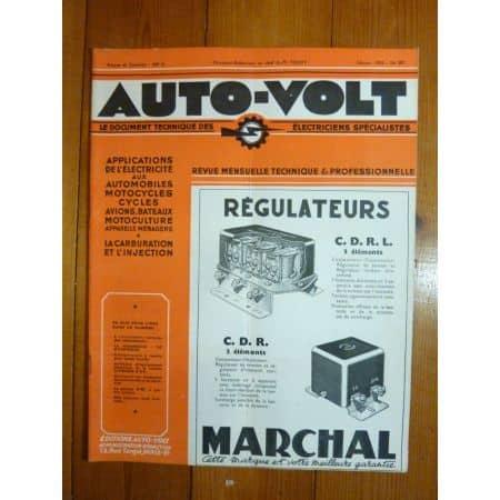 2CV Revue Technique Electronic Auto Volt Citroen