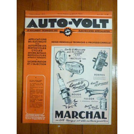 GLC-GLR-GLM Revue Technique Electronic Auto Volt Berliet