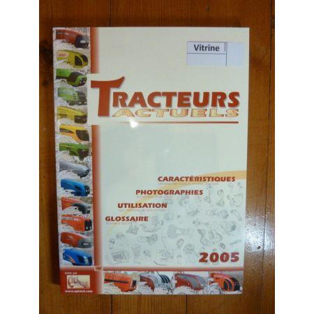 Livre Tracteurs Actuels 2005