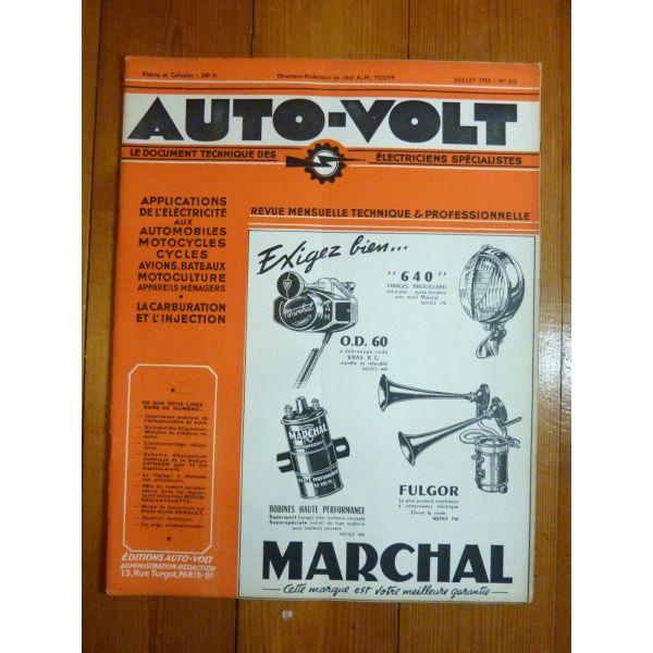 11CV Revue Technique Electronic Auto Volt Citroën