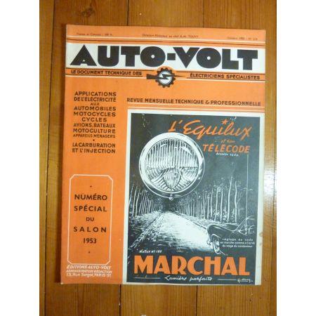 4CV Revue Technique Electronic Auto Volt renault