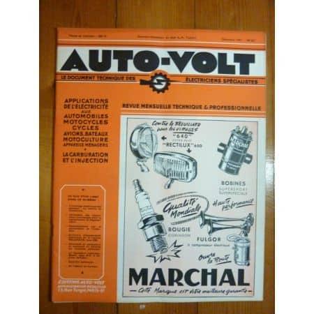 235 Revue Technique Electronic Auto Volt Delahaye
