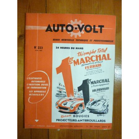 HISPANO Revue Technique Electronic Auto Volt Chausson