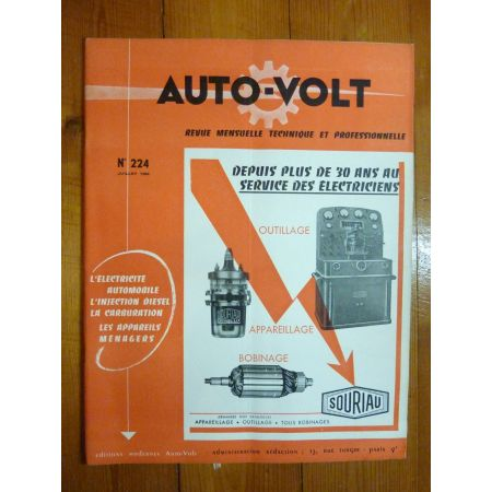 Scooter 1954 Revue Technique Electronic Auto Volt Vespa